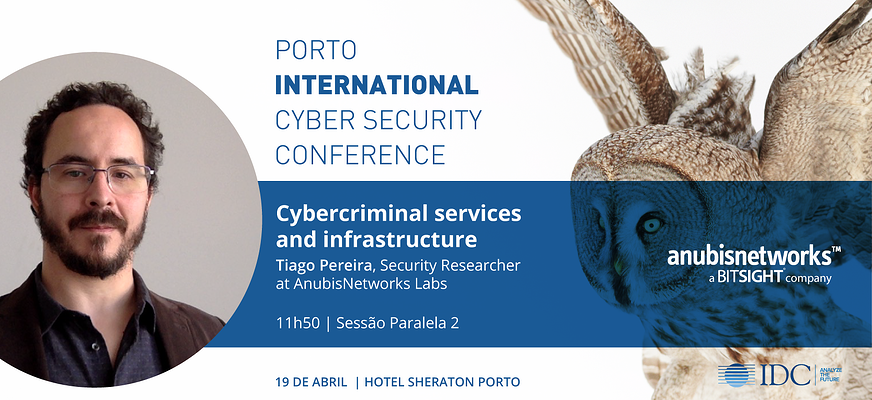 Porto Cybersecurity - AnubisNetworks