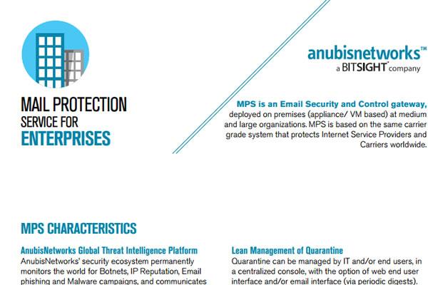 Mail Protection Service for Enterprises